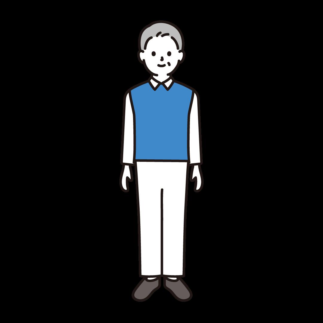 40代・50代(男性)のイラスト