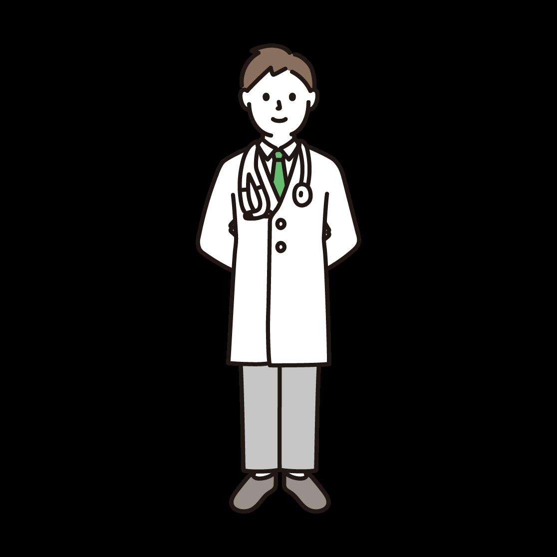 医者のイラスト