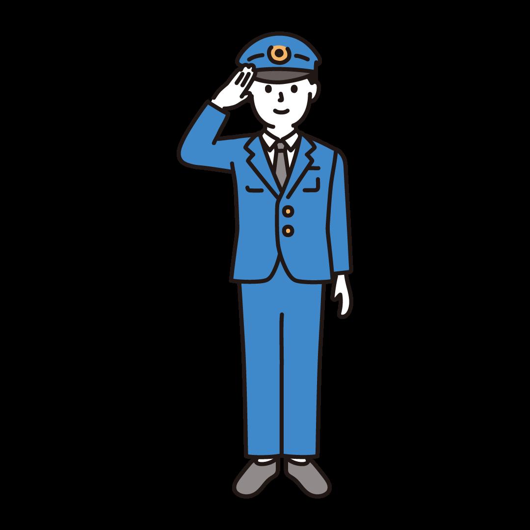 警察官(男性)