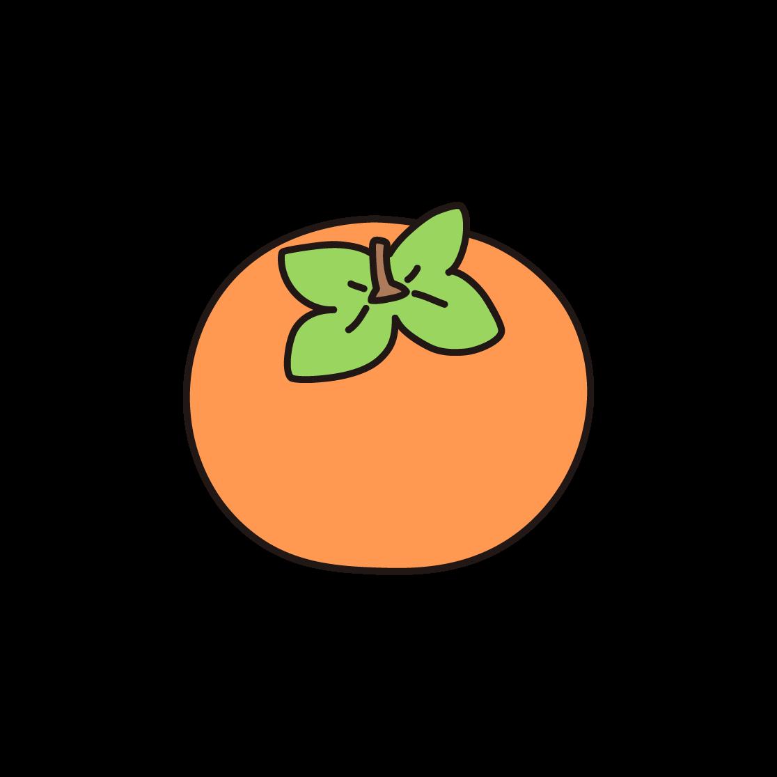柿のイラスト
