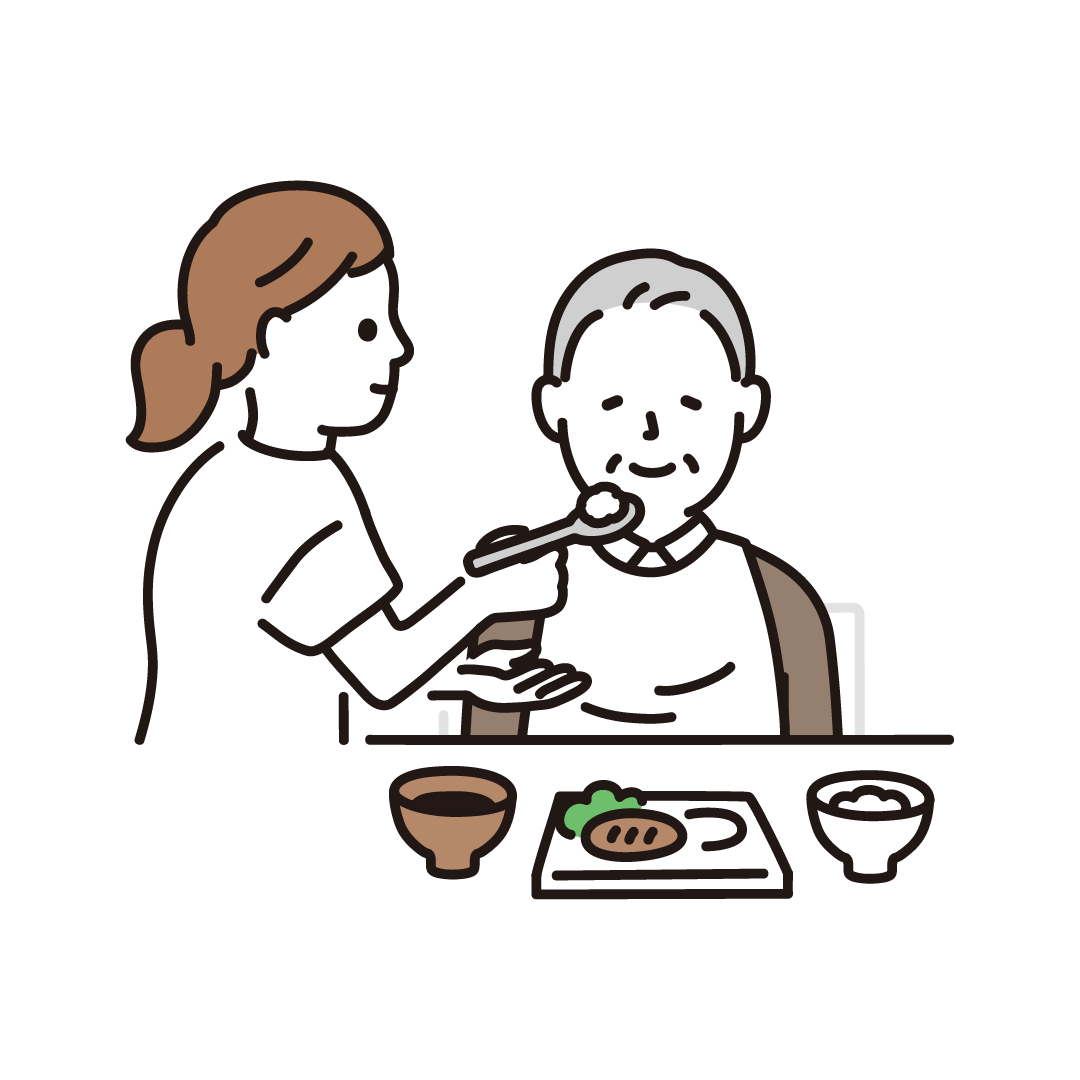 食事介助(男性)