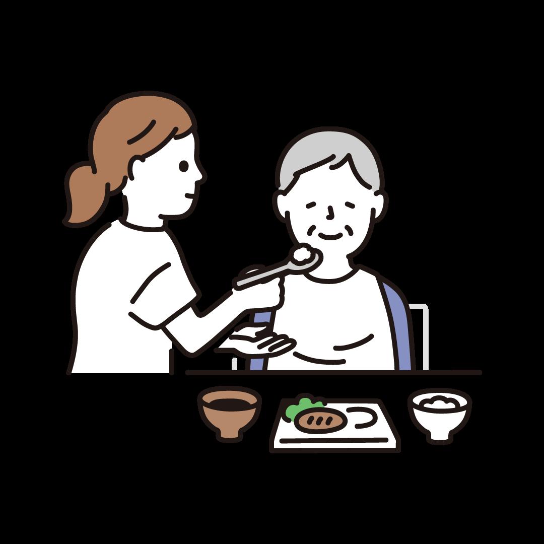 食事介助(女性)