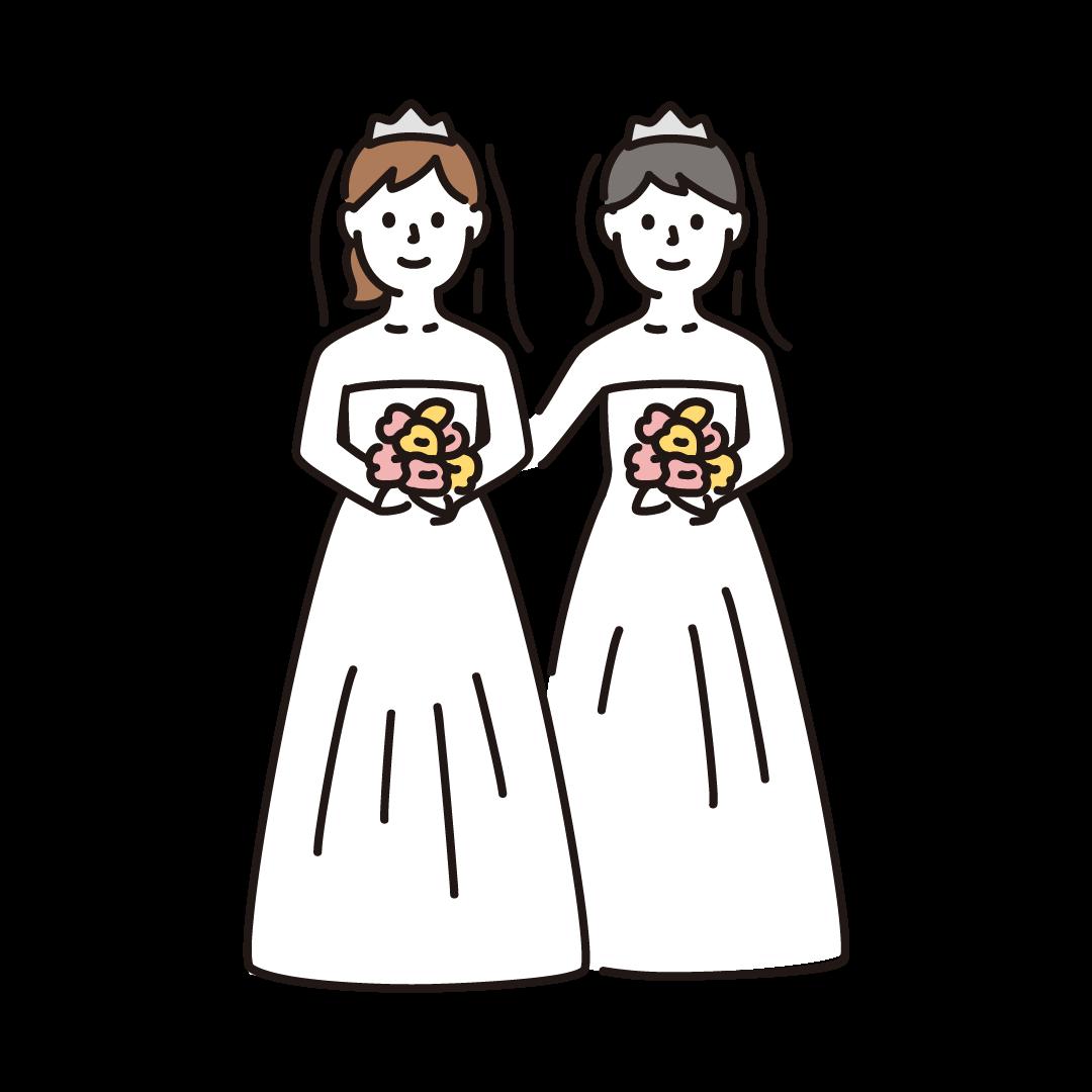 同性婚(女性)