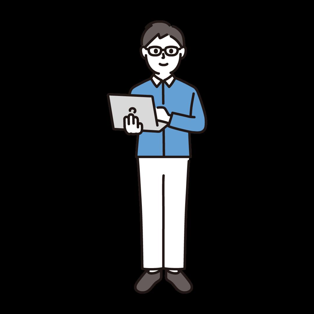 プログラマー(男性)
