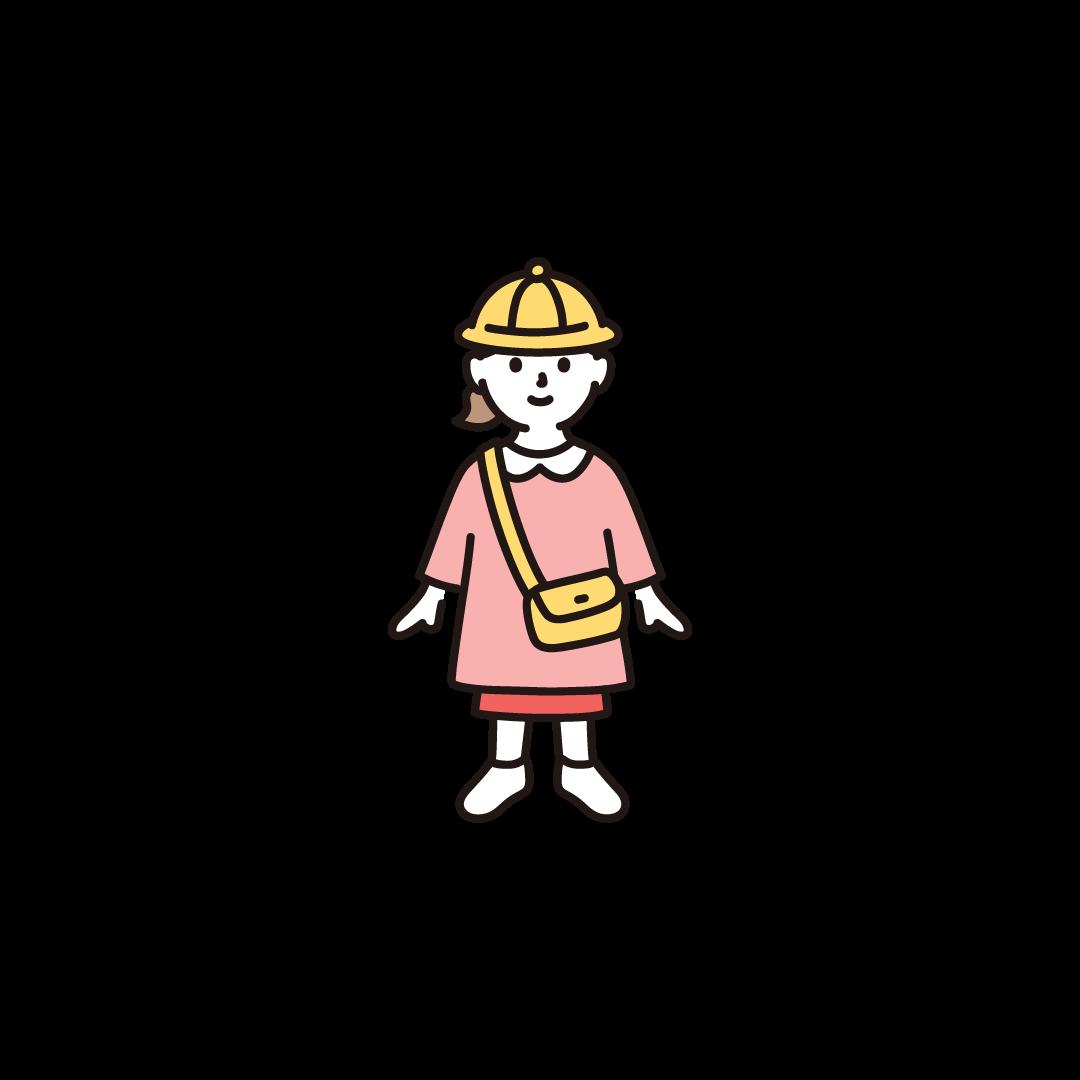 幼稚園児(女の子)