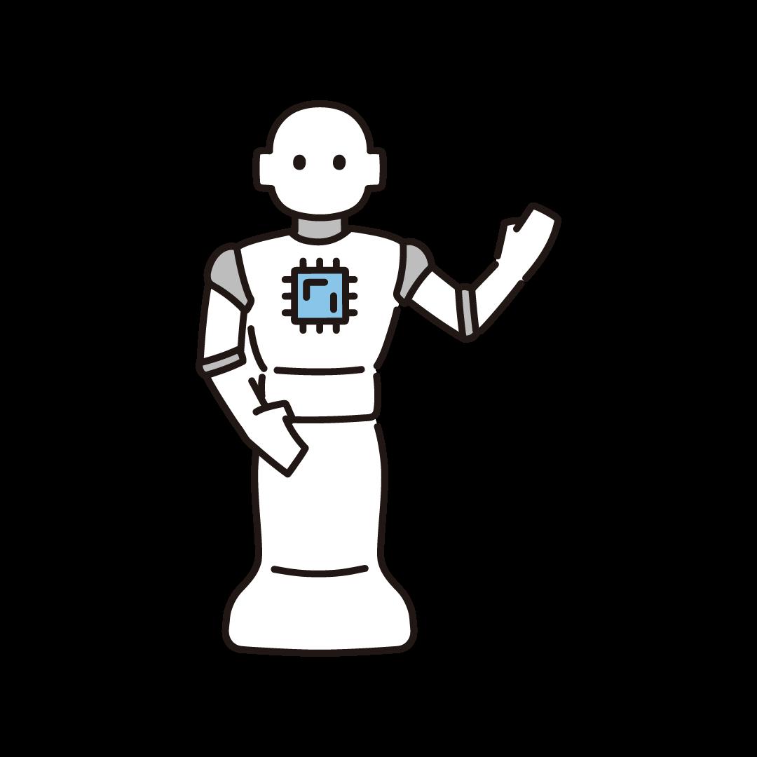 ロボット・AIのイラスト